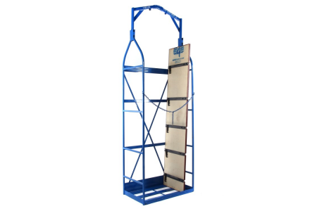 folding top concrete form cage
