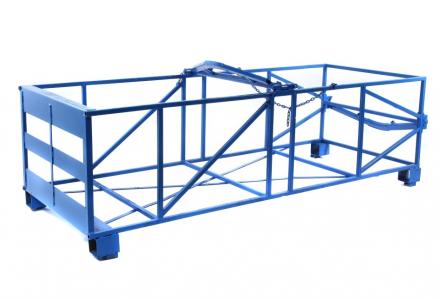 stackable concrete form cage